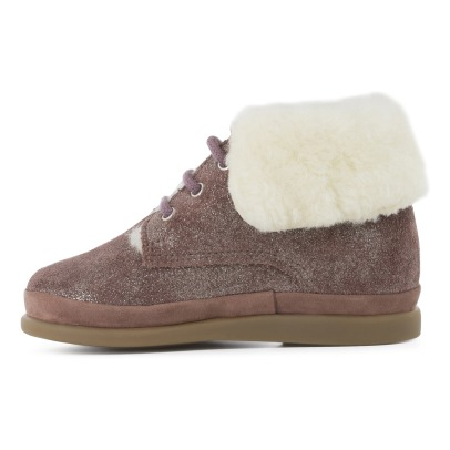 Pom d'Api Bottines Fan Fan Fur-listing