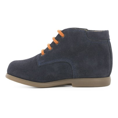 Pom d'Api Bottines Velours Nioupi Derby-listing