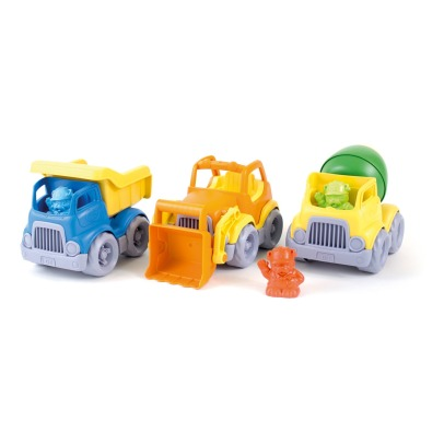 Green Toys Bulldozer - Set of 3-listing