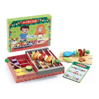 Djeco Joe et max Grill Barbecue Game -listing