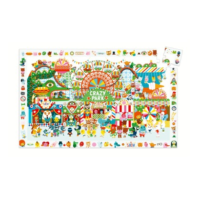 Djeco Observation Puzzle Crazy Park - 35 pieces-listing