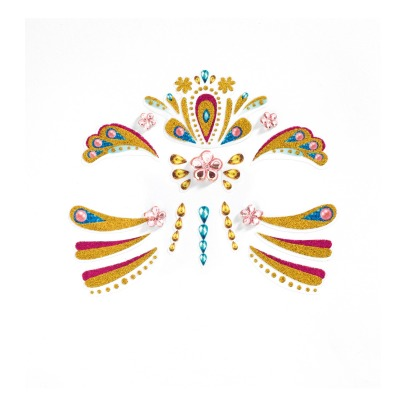 Djeco Princess Face Sticker -listing
