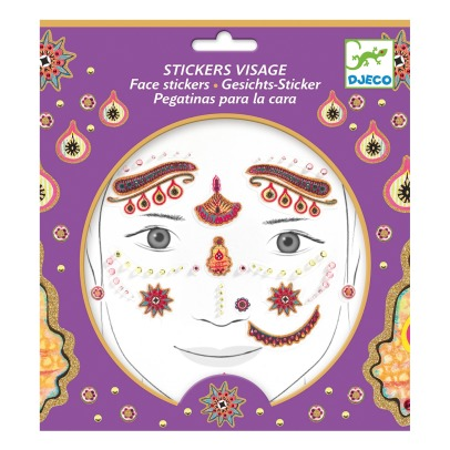 Djeco Indian Princess Fae Sticker -listing