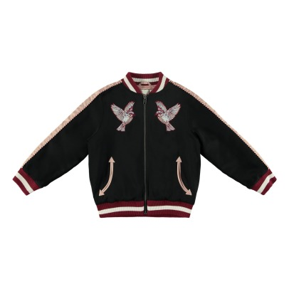 Stella McCartney Kids Willow Embroidered Bomber Jaclet-listing