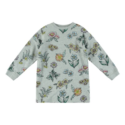 Stella McCartney Kids Robe Molleton Coton Bio Savannah-listing