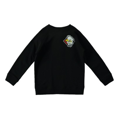 Stella McCartney Kids Sweatshirt Fleece Bio-Baumwolle Adler Billy-listing