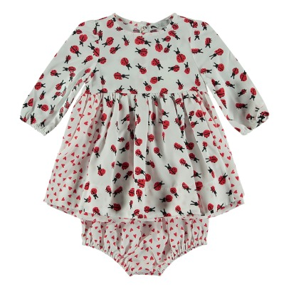 Stella McCartney Kids Kleid + Pumphose Tencel Blume-listing