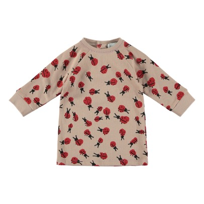 Stella McCartney Kids Leona Baby Organic Cotton Fleece Dress-listing