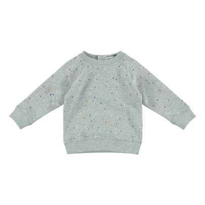 Stella McCartney Kids Sweat Molleton Coton Bio Confettis Betty-listing