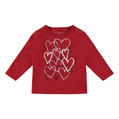 Stella McCartney Kids T-Shirt Cotone Bio Georgie-listing