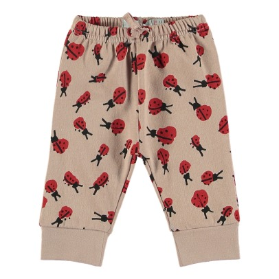 Stella McCartney Kids Tootie Organic Cotton Fleece Joggers-listing