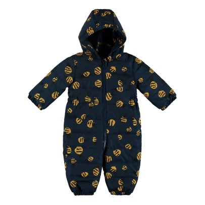Stella McCartney Kids Mono Forrado Abejas Puddle-listing