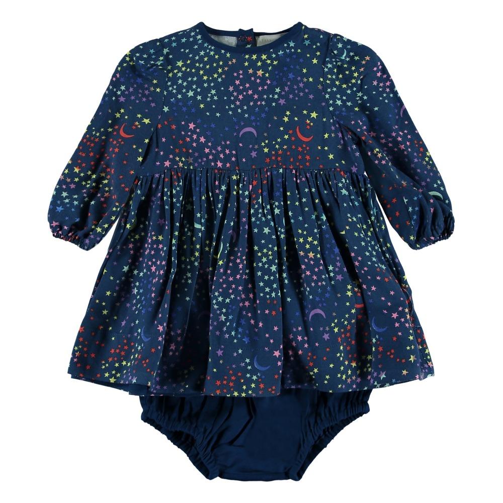 Floral Dress + Bloomers Navy blue Stella McCartney Kids Fashion