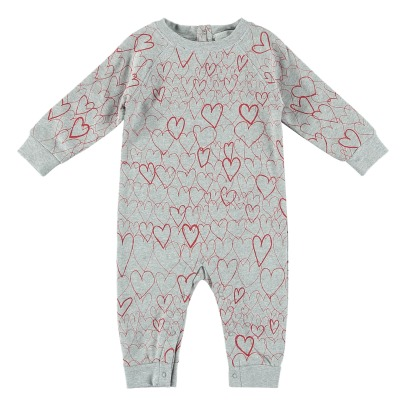 Stella McCartney Kids Overall Fleece Bio-Baumwolle Jimbo-listing