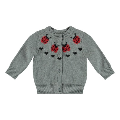 Stella McCartney Kids North Organic Cotton Cardigan-listing