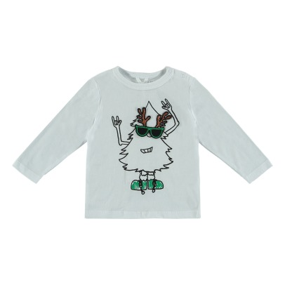 Stella McCartney Kids Georgie Organic Cotton T-shirt - Christmas Collection --listing