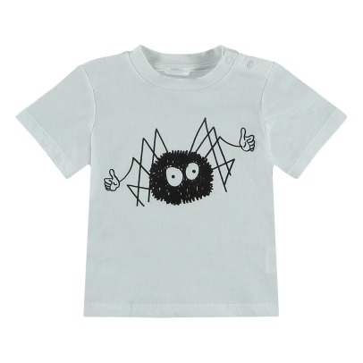 Stella McCartney Kids T-Shirt Coton Bio Chuckle - Collection Halloween --listing