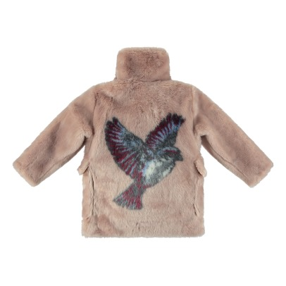 Stella McCartney Kids Carolyne Faux-Fur Coat-listing