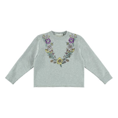 Stella McCartney Kids Sweat Cropped Coton Bio June-listing