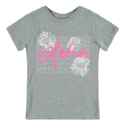 Stella McCartney Kids T-Shirt Coton Bio Stella Arlow - Collection Sport --listing