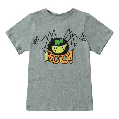 Stella McCartney Kids T-Shirt Coton Bio Arrow - Collection Halloween --listing
