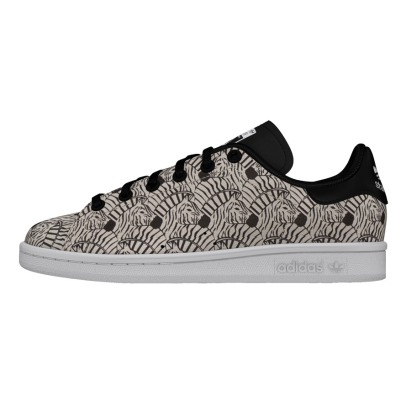Adidas Baskets Lacets Cuir Zèbre Stan Smith-listing
