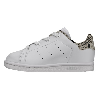 Adidas Stan Smith Zebra Detail Lace-up Trainers-listing