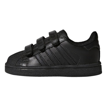 Adidas Baskets con velcro in pelle Uni Superstar -listing