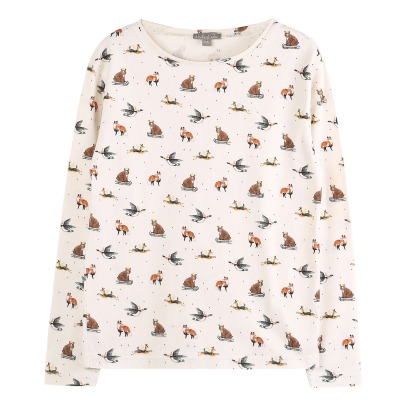 Emile et Ida Fox and Bear T-shirt -listing