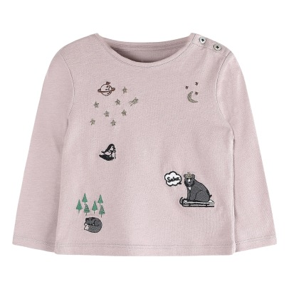 Emile et Ida T-Shirt Broderies Banquise-listing