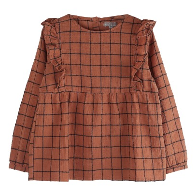 Emile et Ida Checkered Blouse -listing