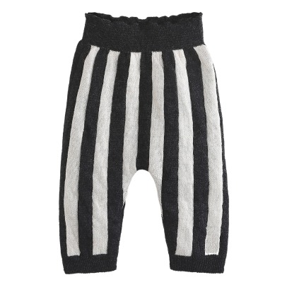 Emile et Ida Wool and Cachemire Striped Trousers -product