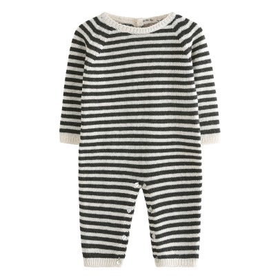 Emile et Ida Cachemire and Wool Striped Jumpsuit-listing