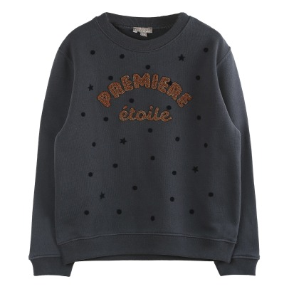 Emile et Ida Lurex Embroidered Sweatshirt -listing