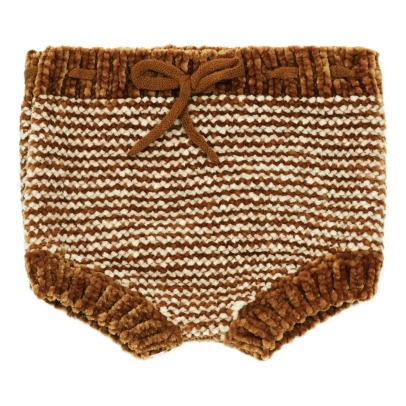 Rylee + Cru Chenille Fabric Striped Bloomers -product