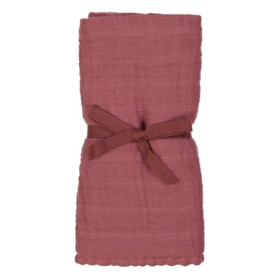 Studio Bohème Organic Cotton Swaddle with Stuffed Toy -listing
