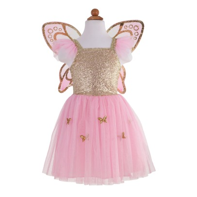 Great Pretenders Butterfly Costume with Golden Wings -listing