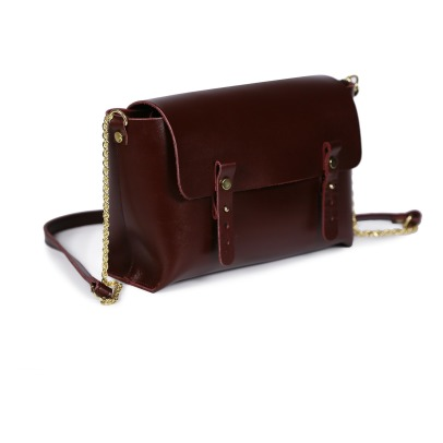 Craie Etude Leather Shoulder Bag-listing