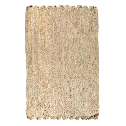 Cosydar Palm Leaf Rectangle Rug 120x80cm-listing