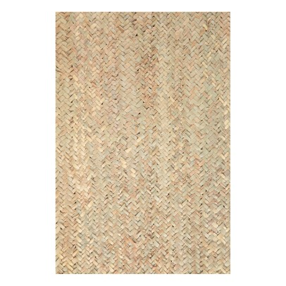 Smallable Home Alfombra rectangular de hoja de palmera 120x80 cm-listing