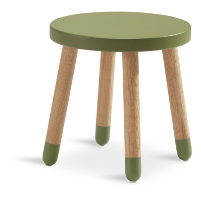 Flexa Play Wooden Children Stool -listing