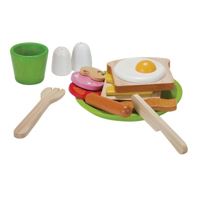Plan Toys Wooden Breakfast -listing