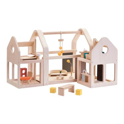 Plan Toys Modular 3 blocks Wooden House -listing