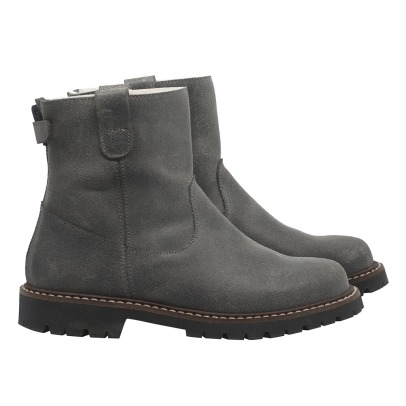 Bonpoint Linen Leather Boots -listing