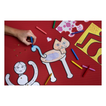 Mon Petit Art Coloring Book - The Coloring Toy : Eames Office - Set-listing