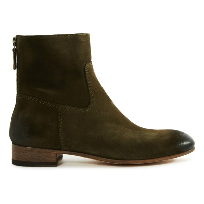 Anthology Paris 7227 Suede Boots-listing