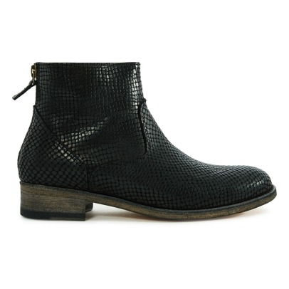 Anthology Paris 6800 Python Leather Boots-listing