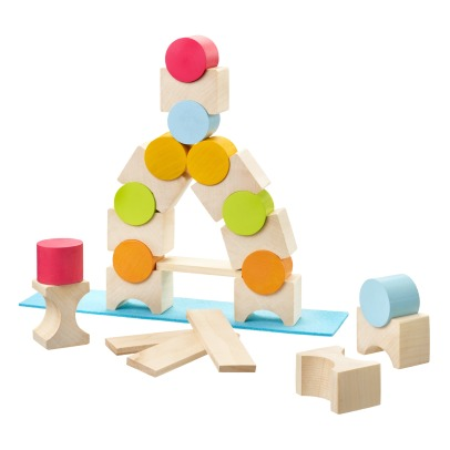 Selecta Wooden Cubes Skill Game-listing