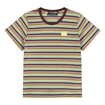 Acne Studios T-Shirt Righe Fa-Mi-listing