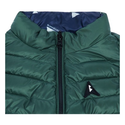 Scotch & Soda Reversible Sleeveless Down Jacket -listing